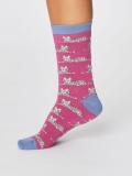 thought-womens-cute-cat-socks-magenta-pink-9061-160